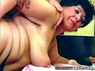 Beautiful granny gets fucked on the table | beautifultable