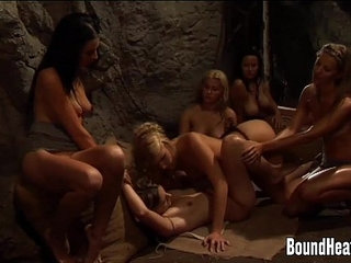 Mistress Enjoys In Good Pussy Eating By Lesbian Slave   enjoyinglesbianmistresspussy eatingslave