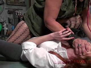 Huxly tickle tortures agent red | agent