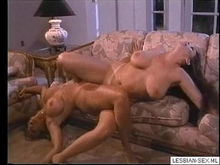 Blonde and brunette lesbians suck and rub pussies together on More | blondebrunettecouchlesbianpussysucking