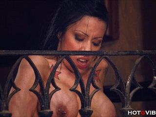 Busty Cougar Squirts from her Balcony   bustycougar