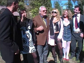 Hot sex picnic turn in a orgy directed by a dirty old man! | dirtyold manorgy