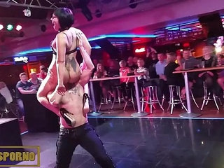 Live sex show with Bat woman in Benidorm | old manwoman