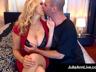 Elegant milf julia ann gets cocks in her mouth and pussy | cockmilfmouthpussy