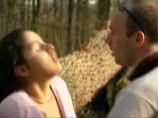 FRENCH CASTING petite brunette teen in a forestMore | brunettecastingcouchfrenchparkpetite