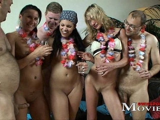 Bi Girls Amanda, Sandy and Chiara need cocks for fuck party   bisexualcockgirlparty