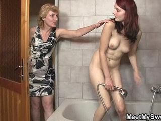 His mom licks her cunt then daddy bangs her | bangedcuntdaddymom