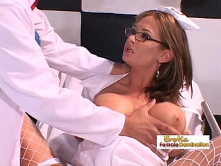 Nurse lets the doctor penetrate her with his big dick | big cockdoctornurse