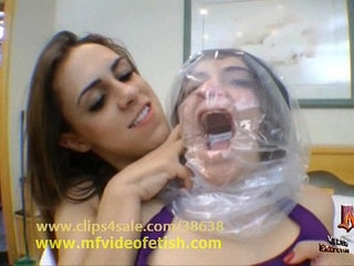 Control Air and Smother Punishment Girl on Girl BDSM   bdsmgirl on girlpunishment