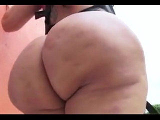 Latina MILF Leather Outfit Showing off Huge Fat Ass | huge asslatinleather
