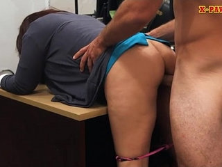 Milf boned by horny pawn man to bail her hubby out of jail   hornyhubbymilfshop